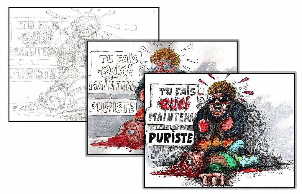 Puriste (étapes)