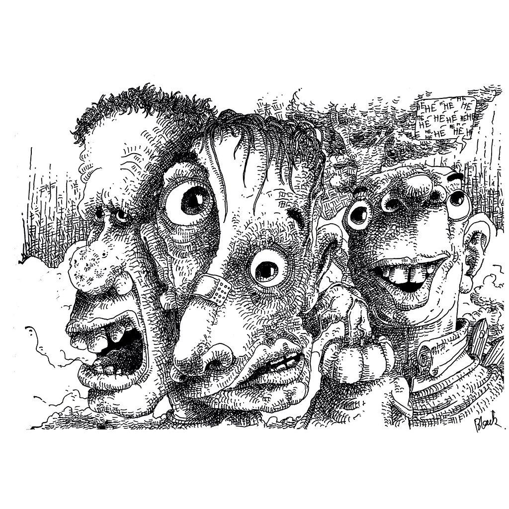 Ron, Pablo & Sid.
